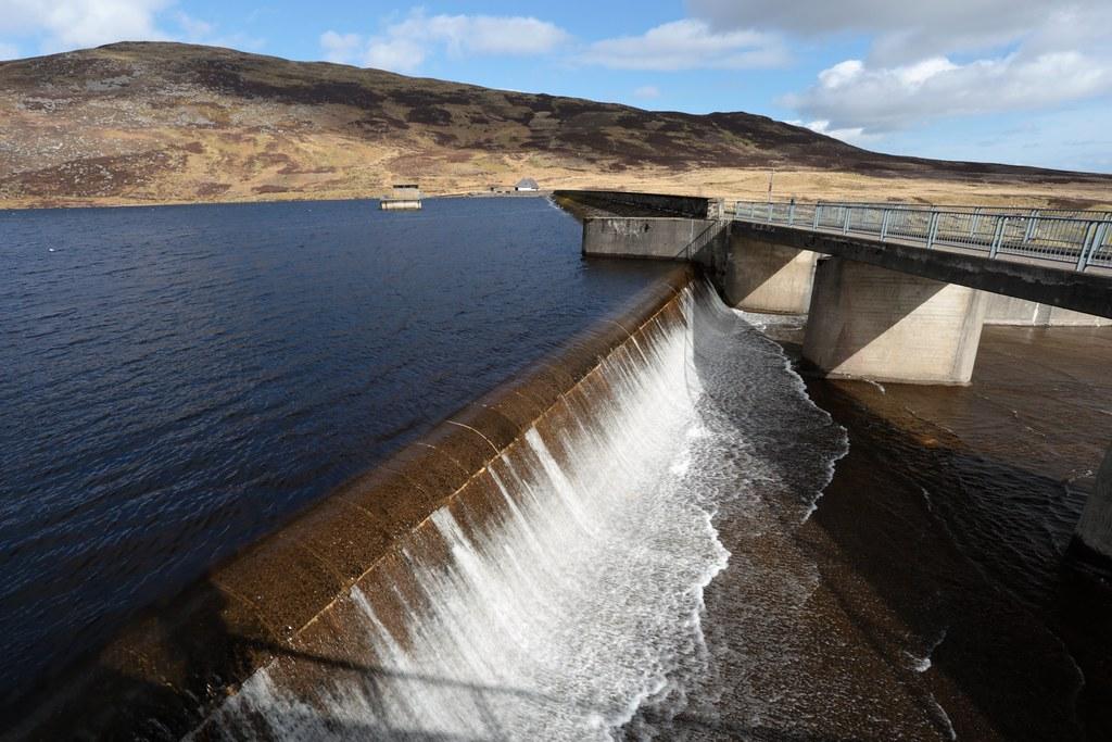 Loch Turret Reservoir Spillway