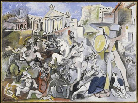 22 - Picasso - L'enlävement des Sabines Uti 465