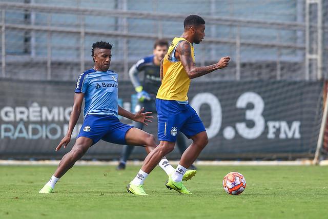 Treino Grêmio 13/04/19