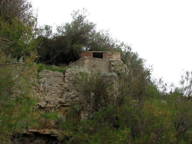 Old World War II defences at Bawdsey