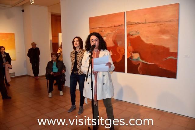 """Inauguració exposició """"El Taller de Núria Corretgé"""" - Fira d'Art Sitges 2018"""