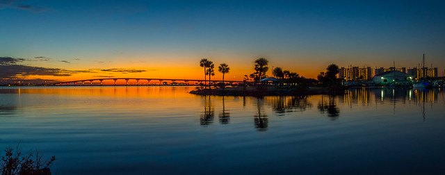 Before sunrise on the Indian river