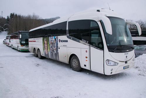 buss buses bus romme alpin scania transportlaboratorium irizar i6 k 410
