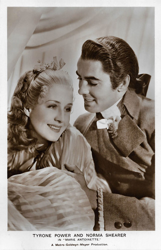 Tyrone Power and Norma Shearer in Marie Antoinette (1938)