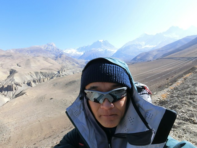Selfie, on the way to MUKTINATH