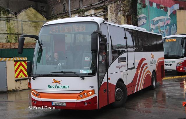 Bus Eireann LC204 (08D2990).