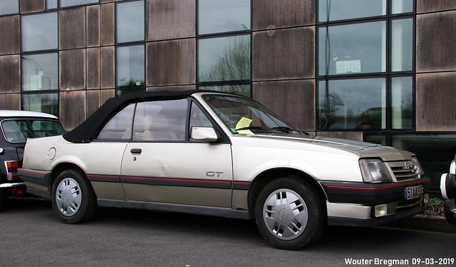 Opel Ascona 2.0i GT Hammond & Thiede cabriolet 1986