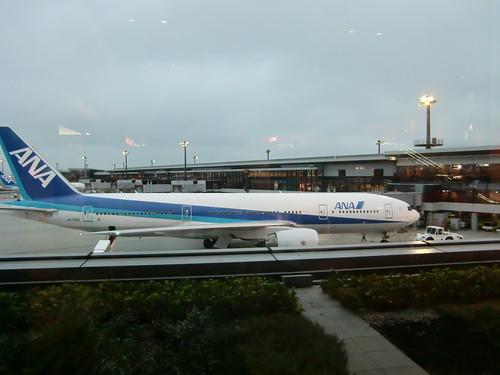 7-2-20090731-晚上从日本成田机场起飞回国