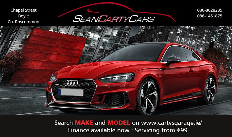 Sean Carty Cars Advert