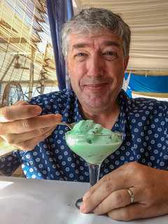 Mike and Ice Cream!