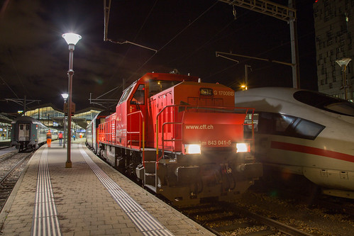 SBB Am 843 041 Basel SBB | by daveymills37886