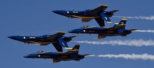 NAF EL CENTRO (VRACIU Field) 2019 Air Show   USN BLUE ANGELS