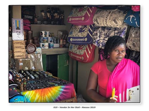Vendor In Her Stall | by Godfrey DiGiorgi