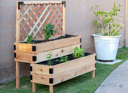 DIY-tiered-Raised-garden-bed-Anikas-DIY-Life-700-12