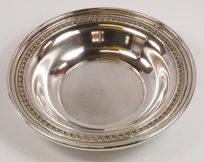 RD27847 Vintage Sterling Silver Bowl Dish 536 RD Richard Dimes 74 Grams DSC00250