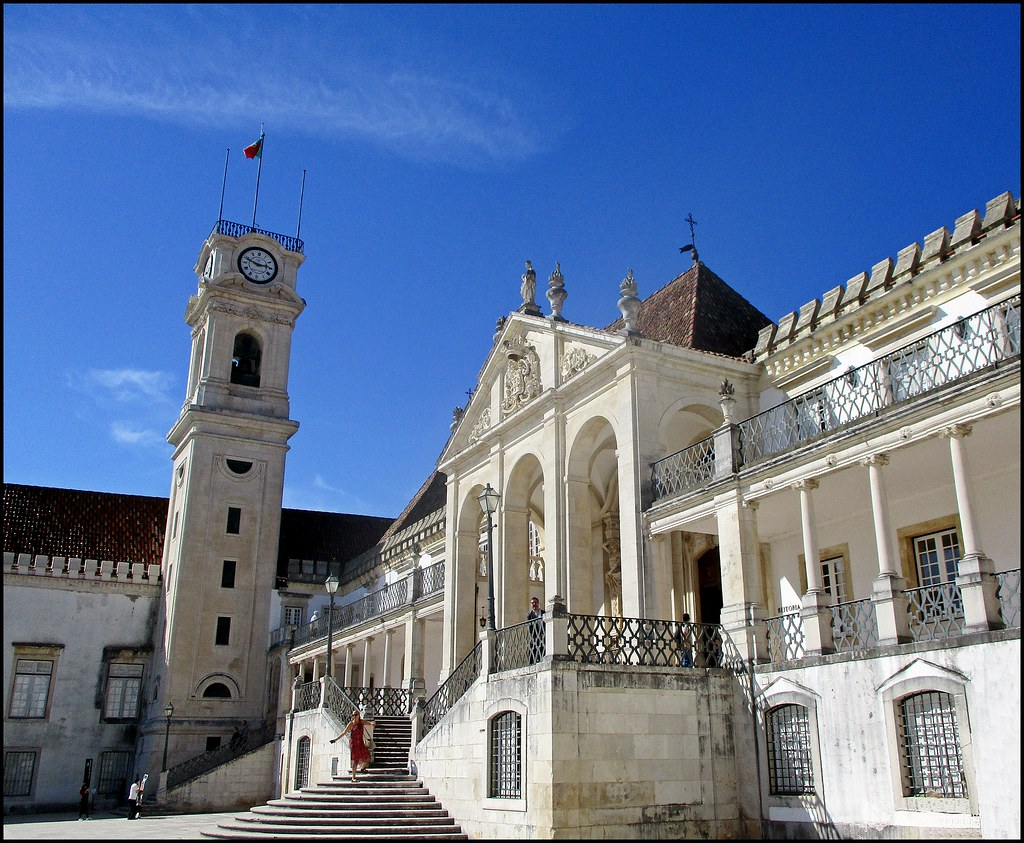Coimbra University, Coimbra, Portugal | Courtyard of the Alc… | Flickr