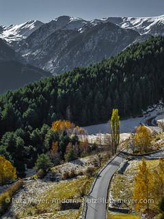 Andorra camis & rutes: Mountain landscape, Encamp, Vall d'Orient, Andorra