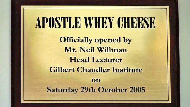 Tafel Apostle Whey Cheese