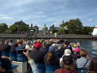 Canal tour in Copenhagen, Denmark