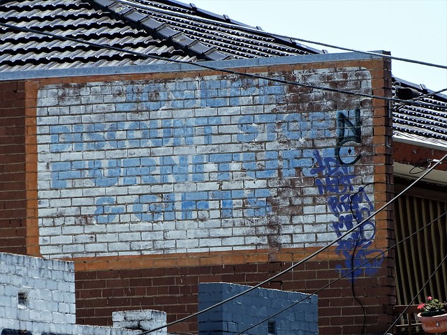 joseph discount store - ghost sign northcote