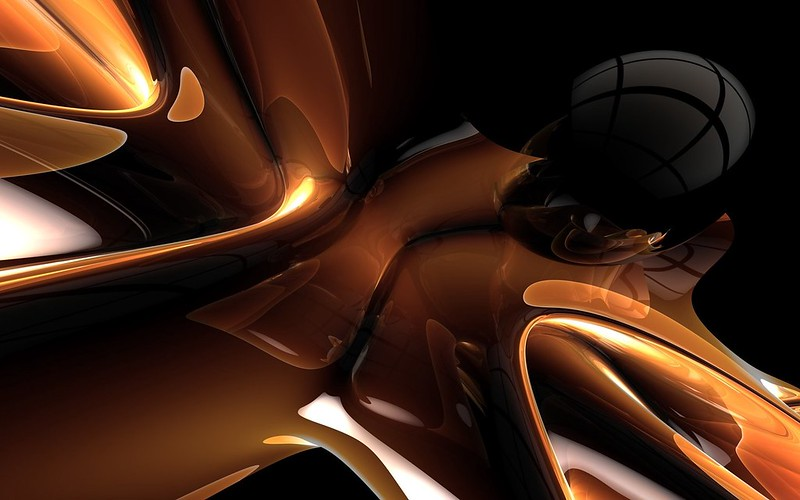 Обои метал, форма, тень картинки на рабочий стол, фото скачать бесплатно