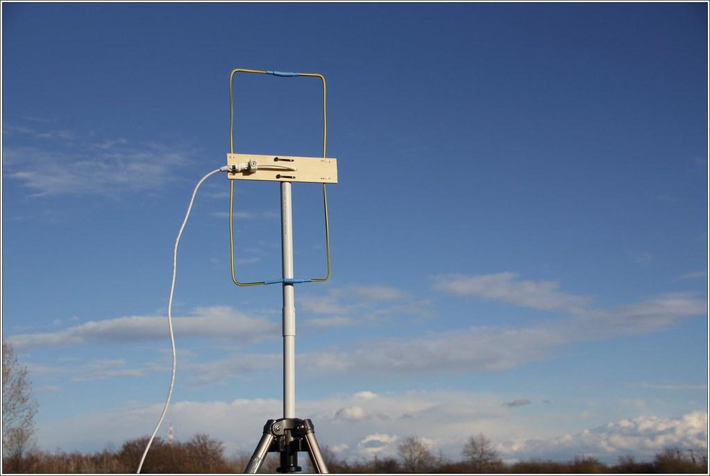 Moxon-Antenna for DAB+ (200Mhz) | Software: Welle io Hardwar