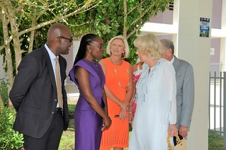 The Duchess of Cornwall visits The Derrick Smith School & Vocational Centre (2) | by barbadosgovernmentinformationservice