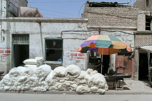 china kashgar streetlife sheepwool asienmanphotography
