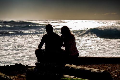A Couple Enjoys The Hawaiian Views | by El-Branden Brazil