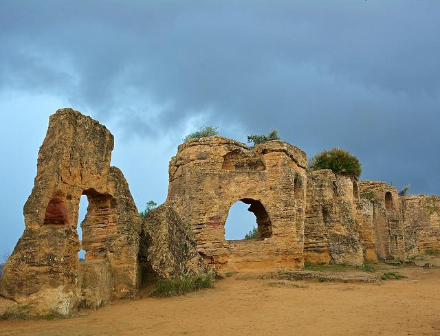 Necropoli paleocristiana - Tombe ad arcosolio.