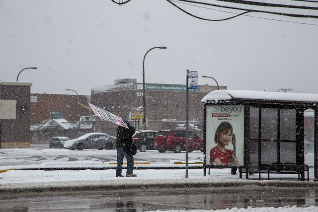 You be You. Store closing - Blown away by winter storm.