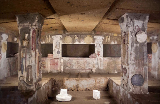 10  Most Amazing Etruscan Tombs - with RomeCabs
