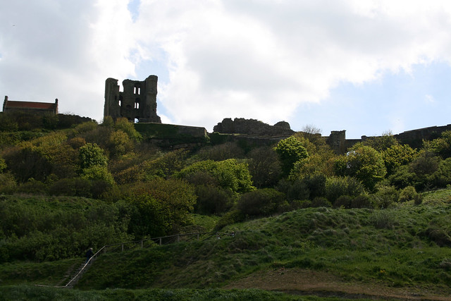 The ruins of Scarborough Castle