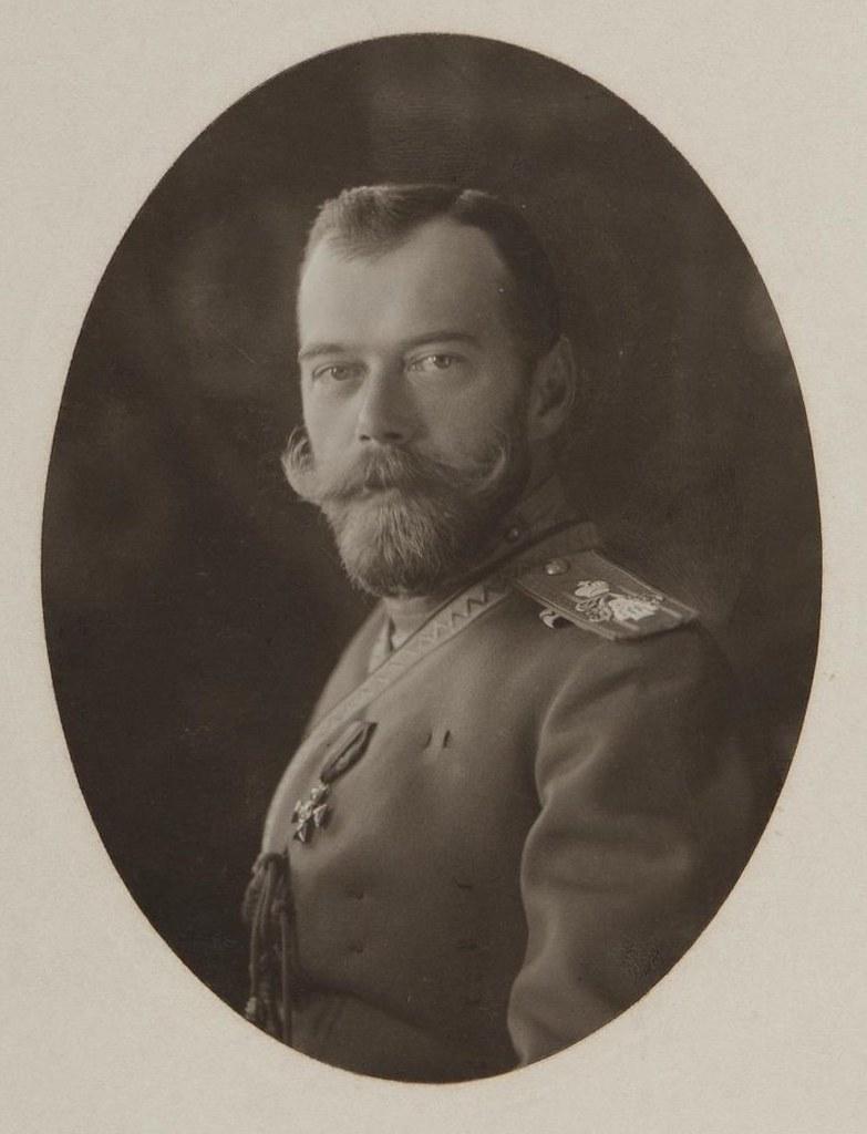 1913. Портрет императора Николая II