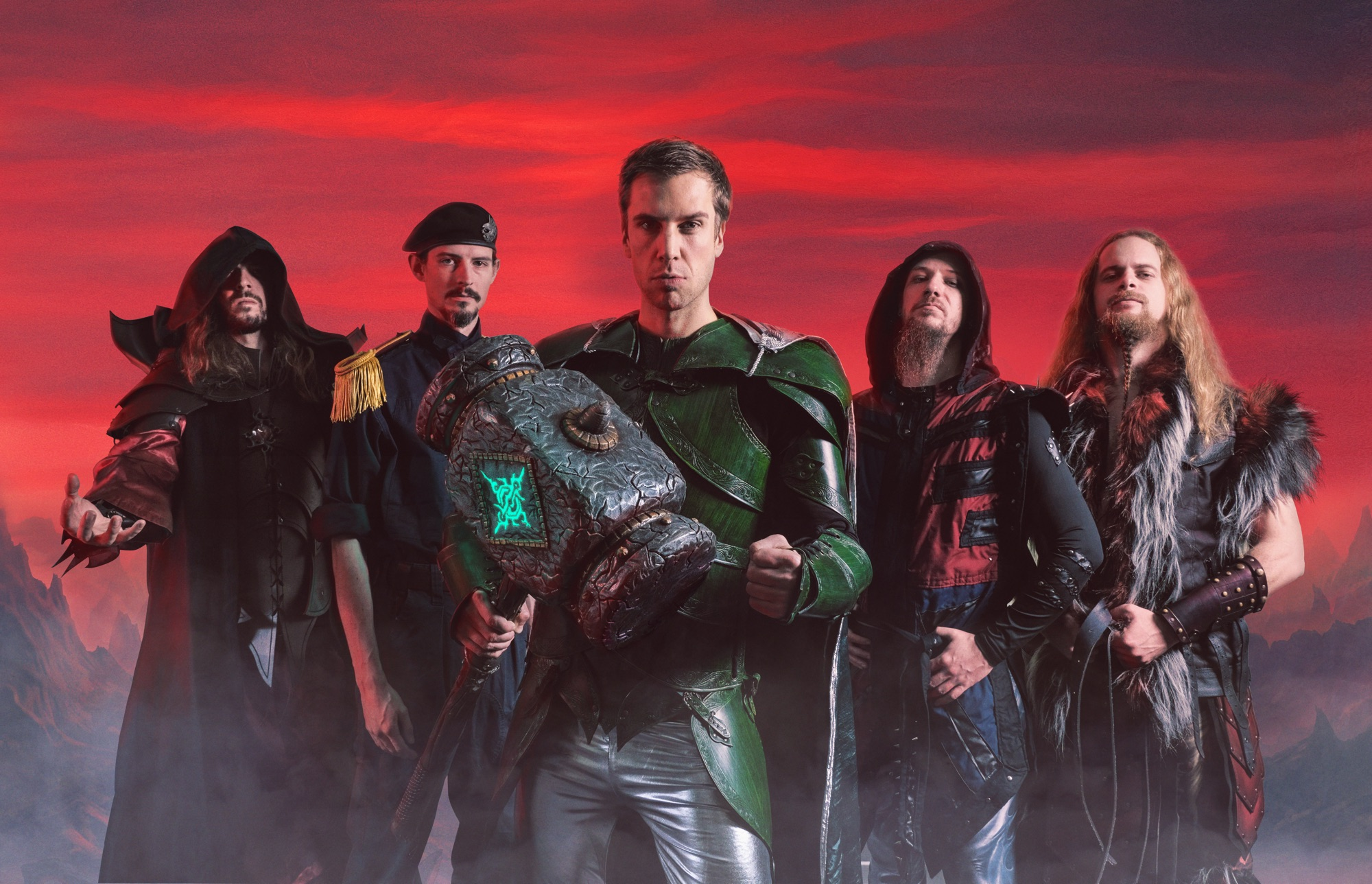 銀河國度的交響力金 榮耀之槌Gloryhammer 釋出第二首單曲影音 The Siege of Dunkeld