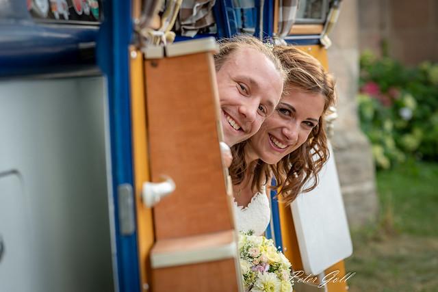 Wedding VW Bully 0840