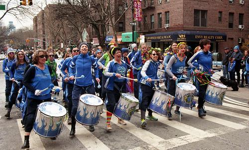 Fogo Azul at the Sunnyside/Woodside St. Pat's For All Parade   by neilsonabeel