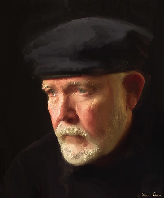 Self Portrait With Afghan Hat