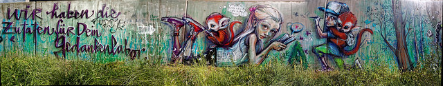 Streetart in Bad Vilbel 2014