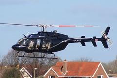 G-JGXP Bell 407 Lee On Solent