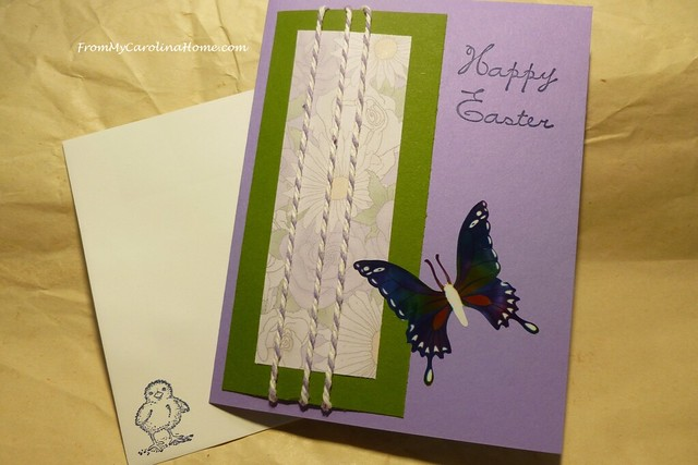 Stamping Fun with Easter Cards at FromMyCarolinaHome.com