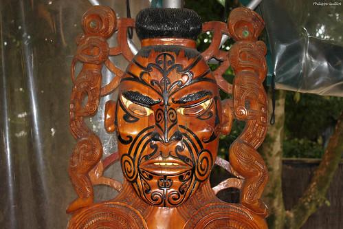 """""""Masque"""" maori   by philippeguillot21"""