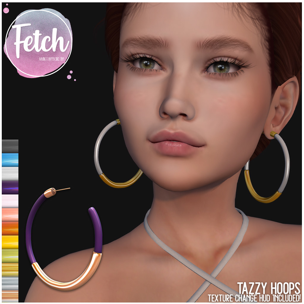[Fetch] Tazzy Earrings @ Fifty Linden Friday