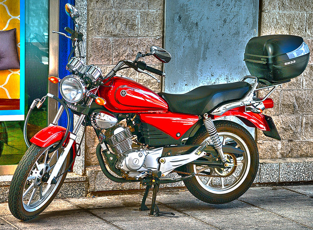 Una Yamaha preciosa