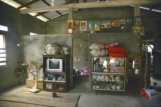 Burmese country side living room