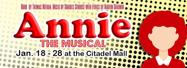 Annie Musical Facebook cover