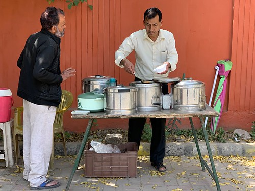 City Food - Kailash Kumar Sharma's Rajma Chawal Stall, Gurgaon