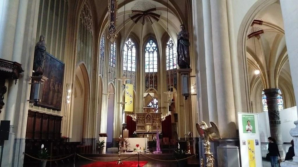 Panorámica del interior de la Catedral