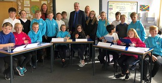 Visiting Macmerry Primary School | by Iain Gray MSP