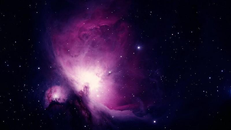 Обои космос, галактика, темный, пятна, абстракция картинки на рабочий стол, фото скачать бесплатно